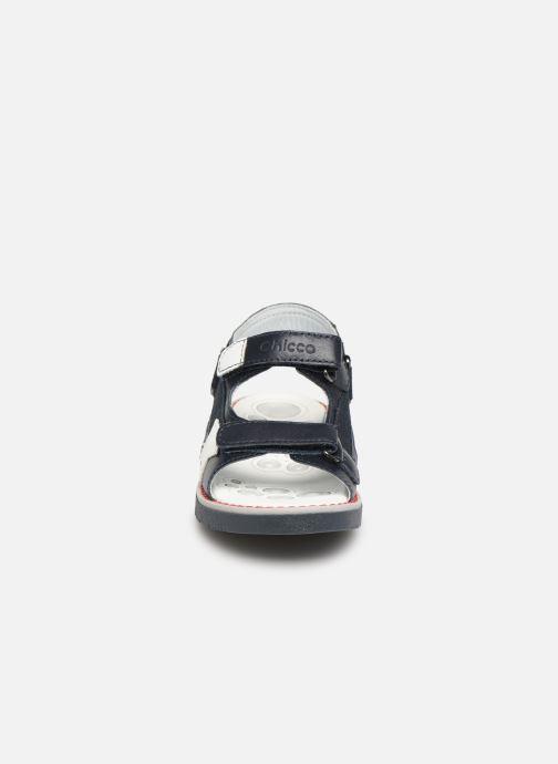 Sandales et nu-pieds Chicco Chico Bleu vue portées chaussures