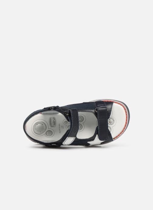 Sandales et nu-pieds Chicco Chico Bleu vue gauche