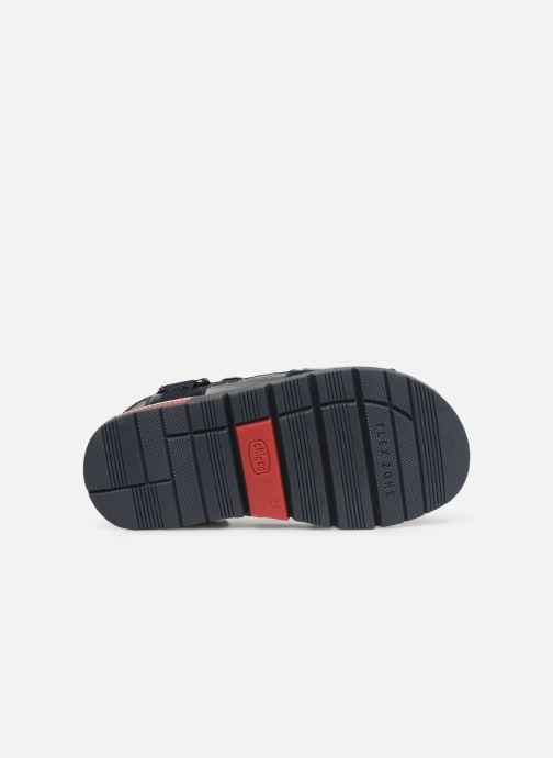 Sandales et nu-pieds Chicco Chico Bleu vue haut