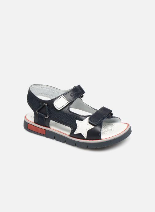 Sandales et nu-pieds Chicco Chico Bleu vue détail/paire