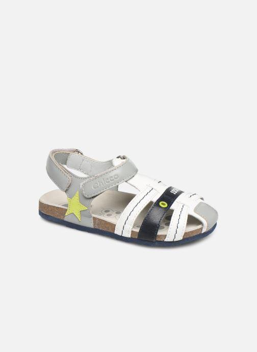 Sandales et nu-pieds Chicco Hezio Blanc vue détail/paire