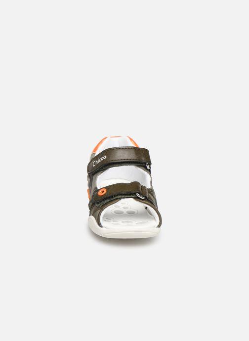 Sandales et nu-pieds Chicco Giorgino Vert vue portées chaussures