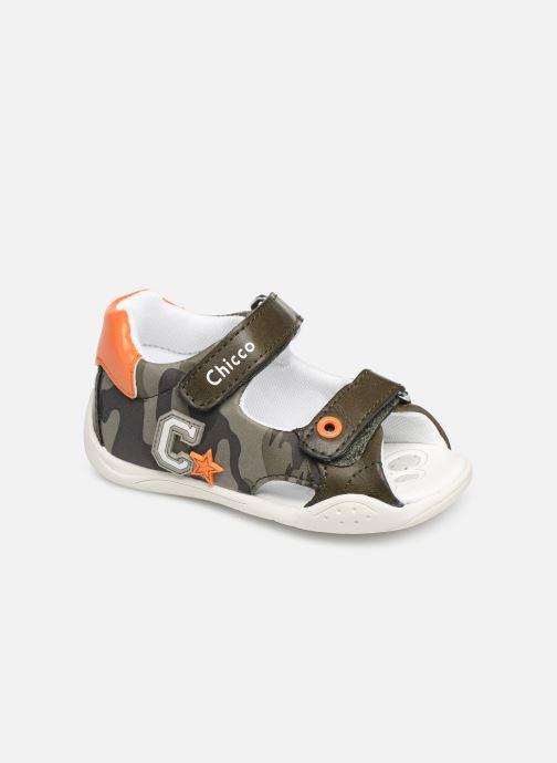 Sandales et nu-pieds Chicco Giorgino Vert vue détail/paire