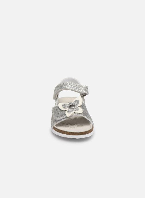 Sandales et nu-pieds Chicco Hastrid Argent vue portées chaussures