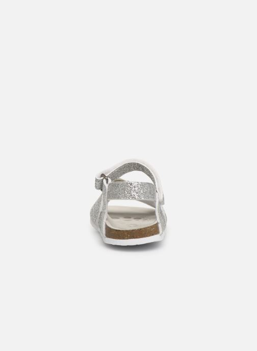 Sandals Chicco Hastrid Silver view from the right