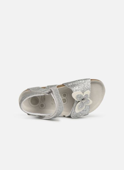 Sandals Chicco Hastrid Silver view from the left