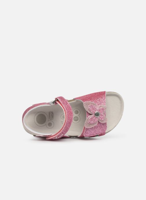 Sandales et nu-pieds Chicco Hastrid Rose vue gauche