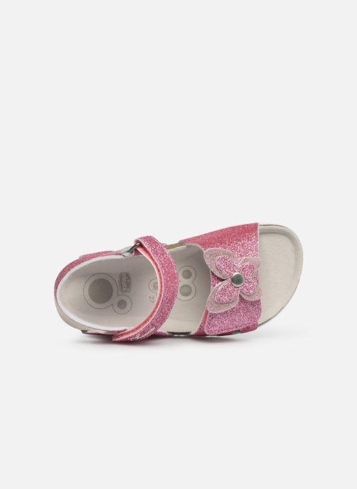 Sandali e scarpe aperte Chicco Hastrid Rosa immagine sinistra