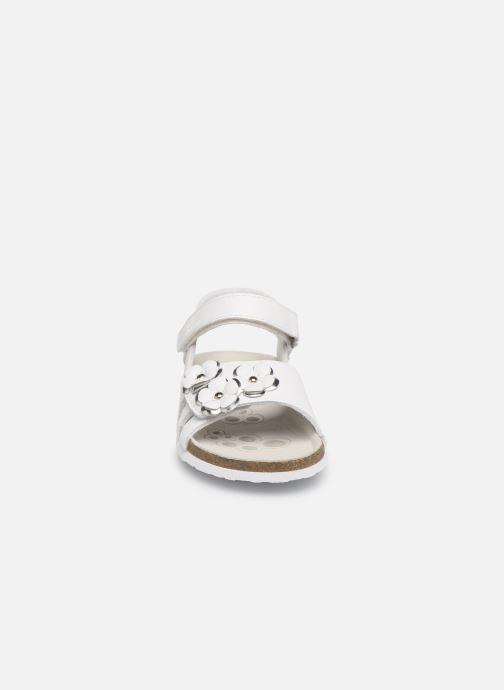Sandales et nu-pieds Chicco Hisabel Blanc vue portées chaussures