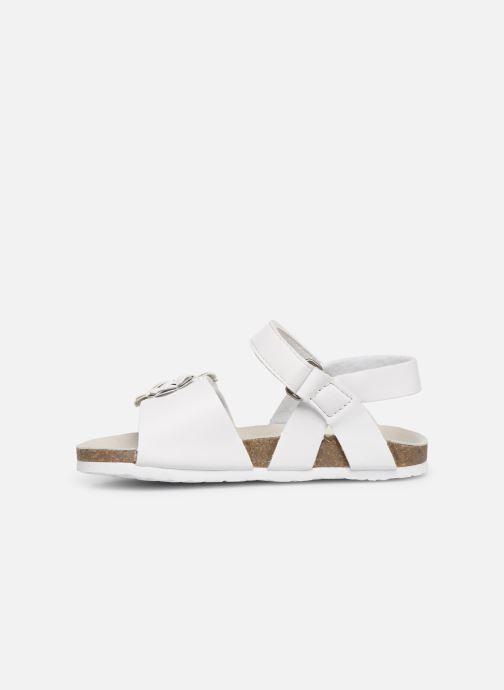 Sandales et nu-pieds Chicco Hisabel Blanc vue face