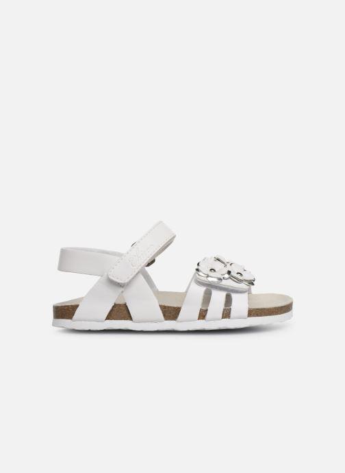 Sandales et nu-pieds Chicco Hisabel Blanc vue derrière