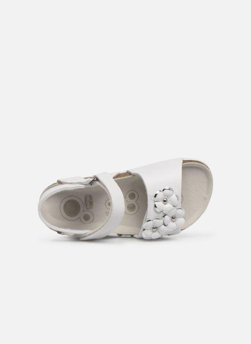 Sandales et nu-pieds Chicco Hisabel Blanc vue gauche