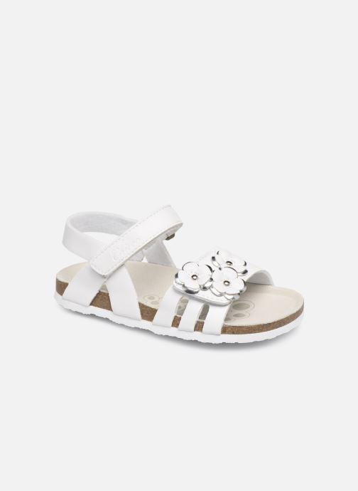 Sandales et nu-pieds Chicco Hisabel Blanc vue détail/paire