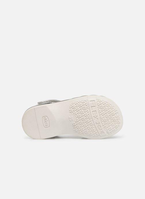 Sandales et nu-pieds Chicco Calista Argent vue haut