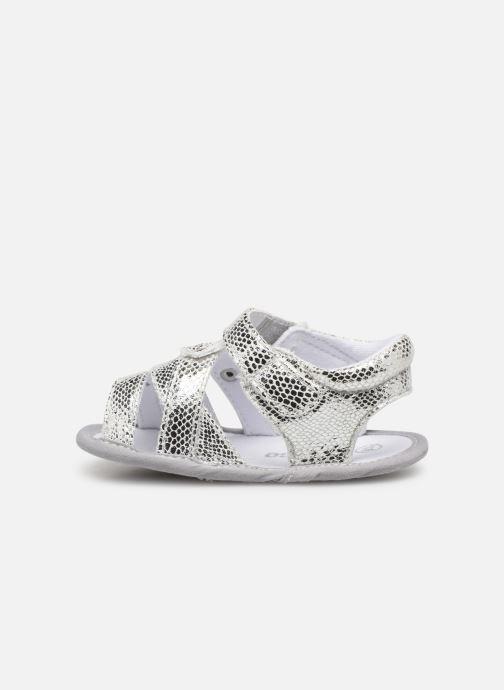 Sandali e scarpe aperte Chicco Narcisa Argento immagine frontale