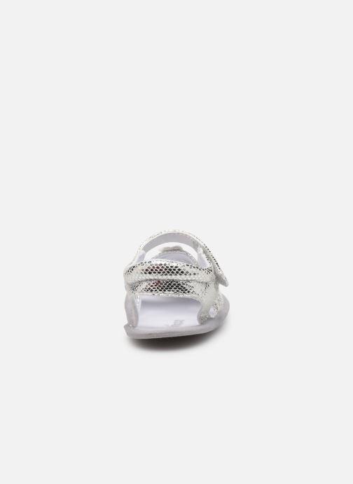 Sandales et nu-pieds Chicco Narcisa Argent vue droite
