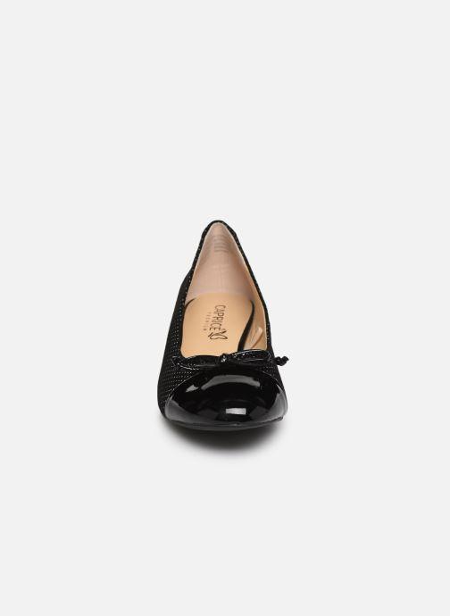 Escarpins Caprice Ottilie Noir vue portées chaussures
