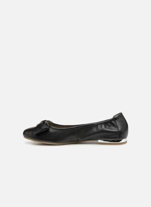 Ballet pumps Caprice Lorel Black front view