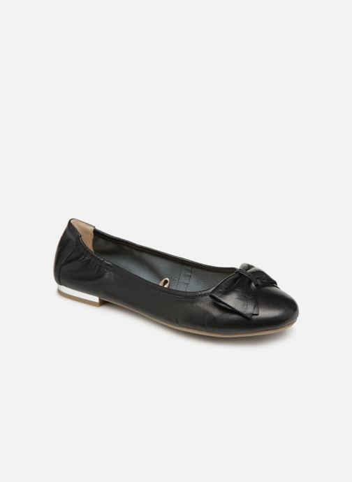 Ballet pumps Caprice Lorel Black detailed view/ Pair view