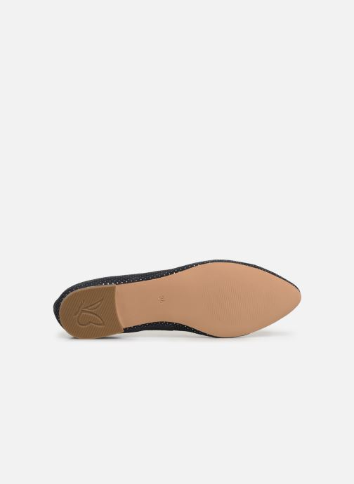 Ballet pumps Caprice Calaba Blue view from above