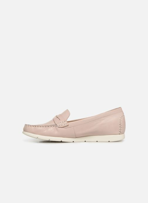 Loafers Caprice Carmen Pink front view