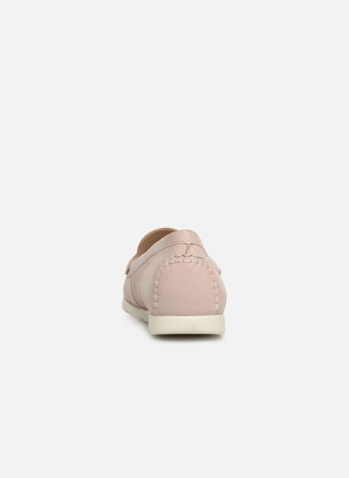 Loafers Caprice Carmen Pink view from the right