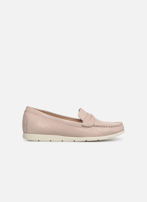 Loafers Caprice Carmen Pink back view