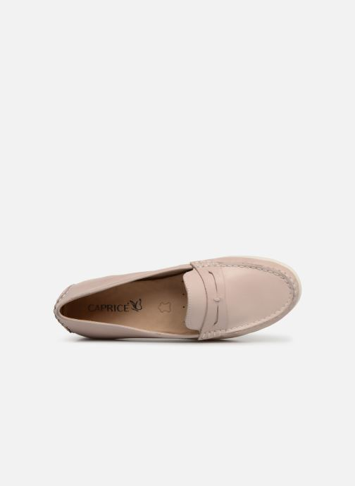 Loafers Caprice Carmen Pink view from the left