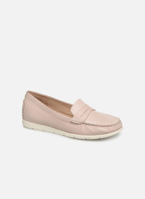 Loafers Caprice Carmen Pink detailed view/ Pair view