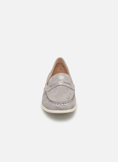 Mocassins Caprice Carmen Argent vue portées chaussures