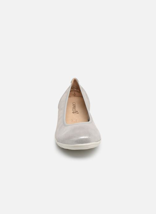 Ballerines Caprice Greta Argent vue portées chaussures