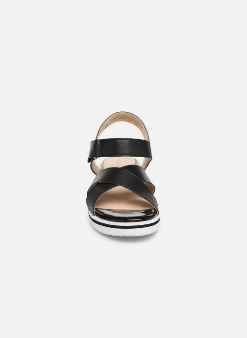 Sandals Caprice Luna Black model view