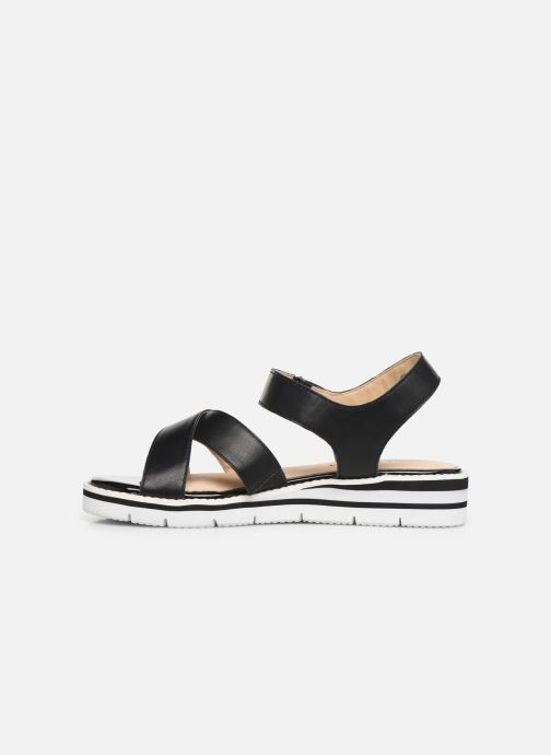 Sandals Caprice Luna Black front view