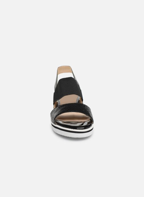 Caprice Lisa (Noir) Sandales et nu pieds chez Sarenza (351721)