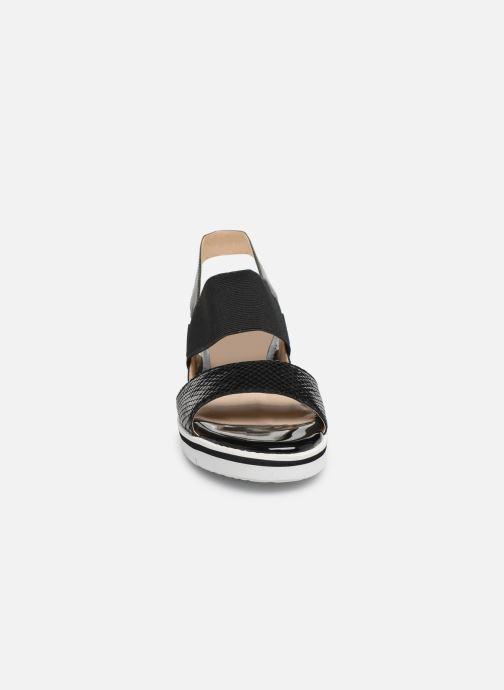 Sandales et nu-pieds Caprice Lisa Noir vue portées chaussures