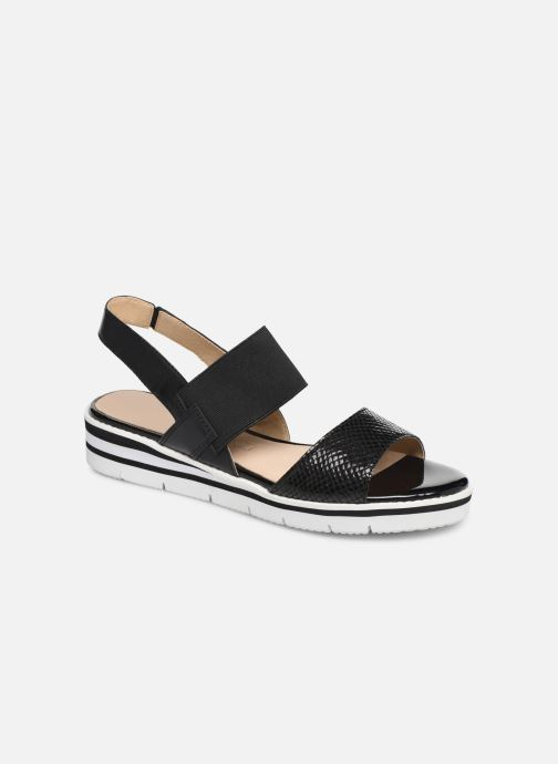 Sandaler Caprice Lisa Sort detaljeret billede af skoene