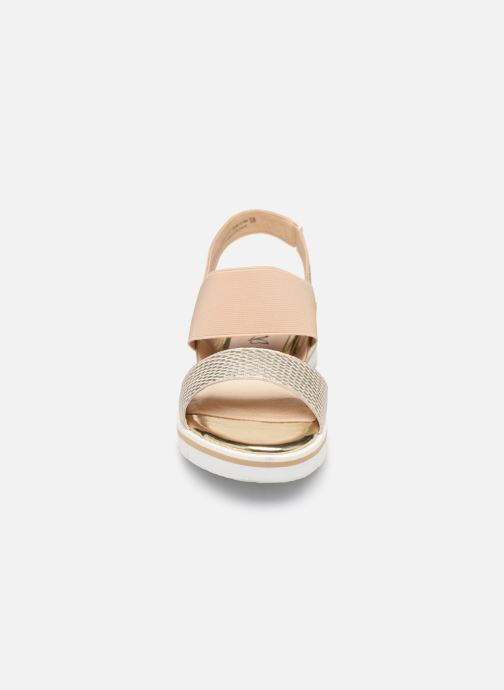 Sandals Caprice Lisa Bronze and Gold model view