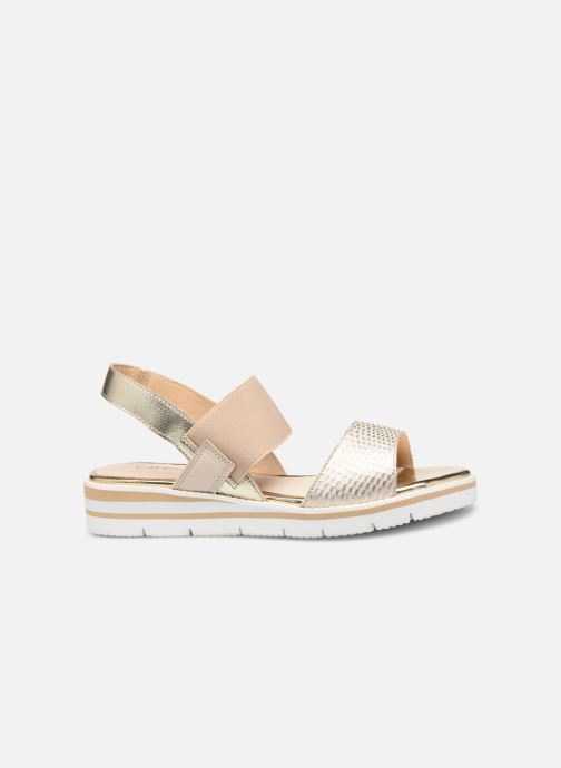 Sandals Caprice Lisa Bronze and Gold back view