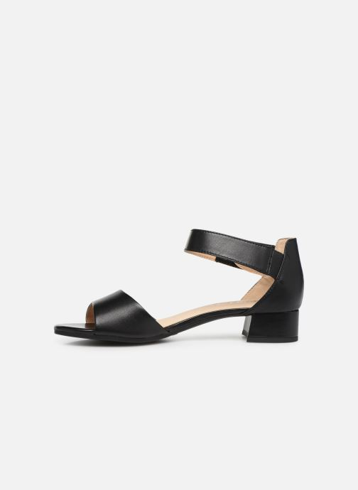 Sandals Caprice Ginevra Black front view