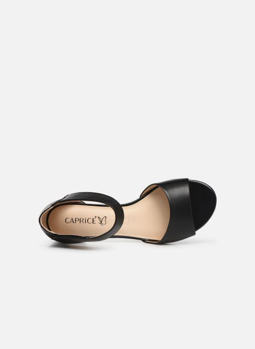 Sandals Caprice Ginevra Black view from the left