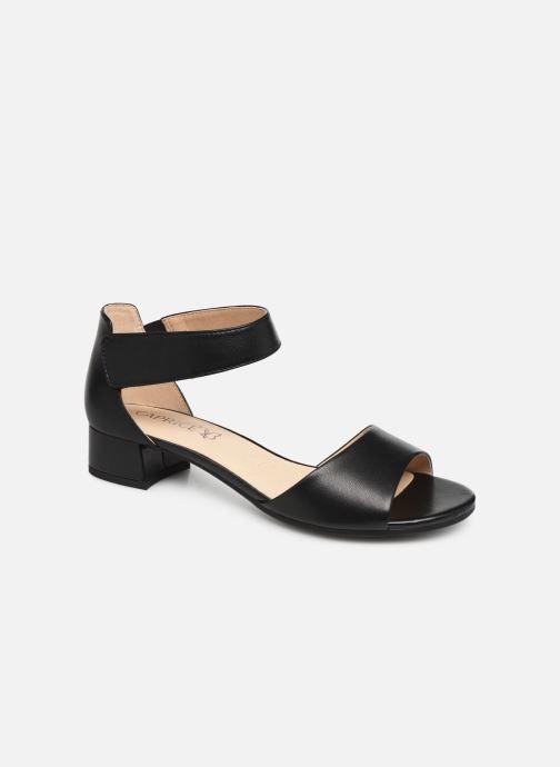 Sandaler Caprice Ginevra Sort detaljeret billede af skoene