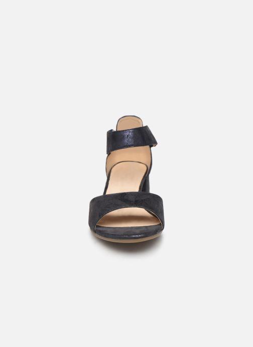 Sandales et nu-pieds Caprice Ginevra Bleu vue portées chaussures