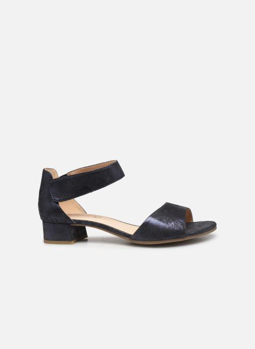 Sandales et nu-pieds Caprice Ginevra Bleu vue derrière