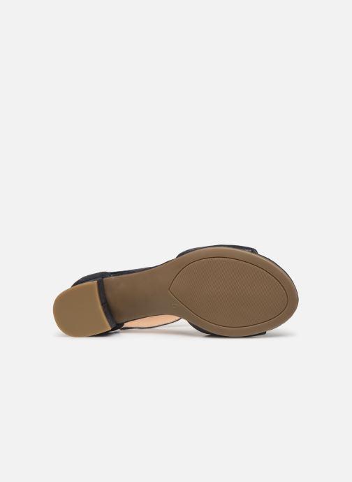 Sandales et nu-pieds Caprice Ginevra Bleu vue haut