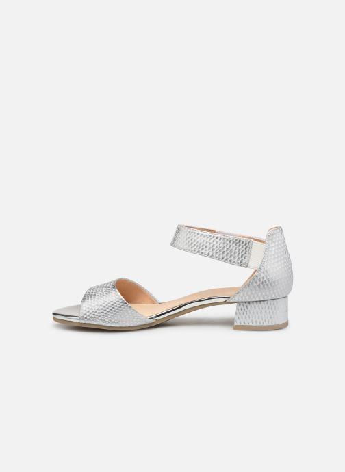 Sandales et nu-pieds Caprice Ginevra Argent vue face
