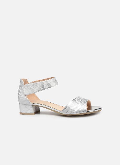 Sandales et nu-pieds Caprice Ginevra Argent vue derrière