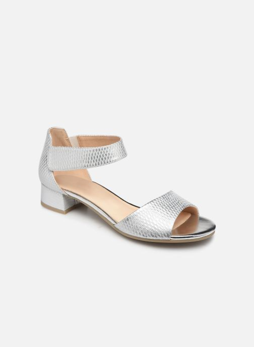 Sandales et nu-pieds Caprice Ginevra Argent vue détail/paire