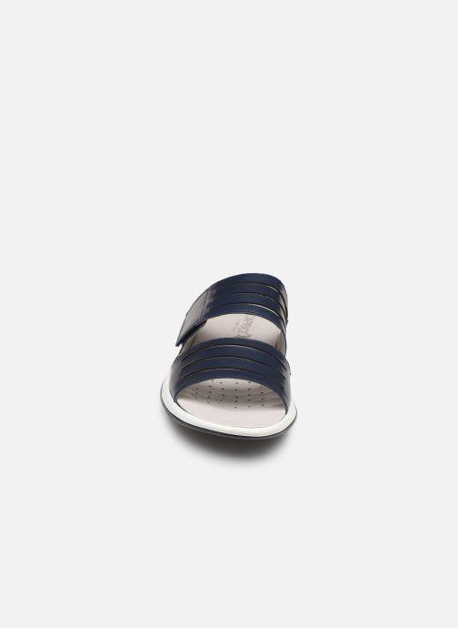 Mules et sabots Caprice Martina Bleu vue portées chaussures