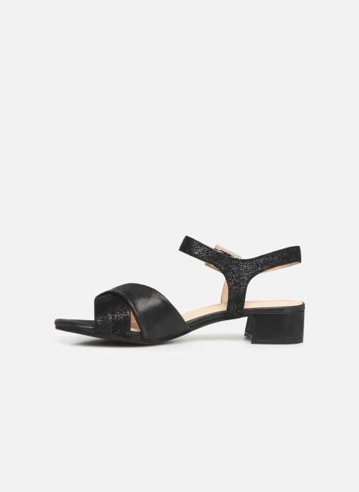 Sandals Caprice Cacilie Black front view