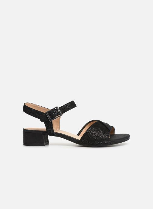 Sandals Caprice Cacilie Black back view
